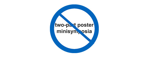 Two-part poster minisymposium